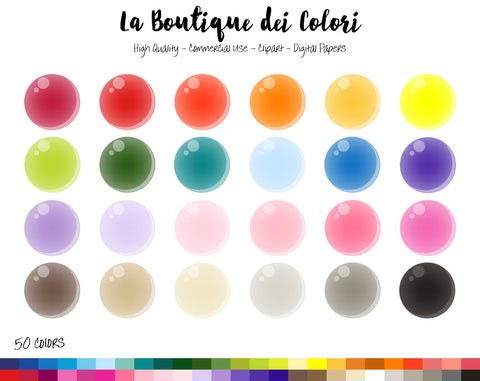 Soap Bubble Planner Sticker - La Boutique Dei Colori