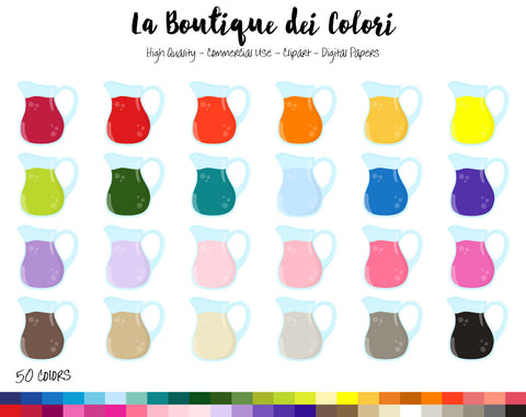 Fruit Juice Planner Clipart - La Boutique Dei Colori
