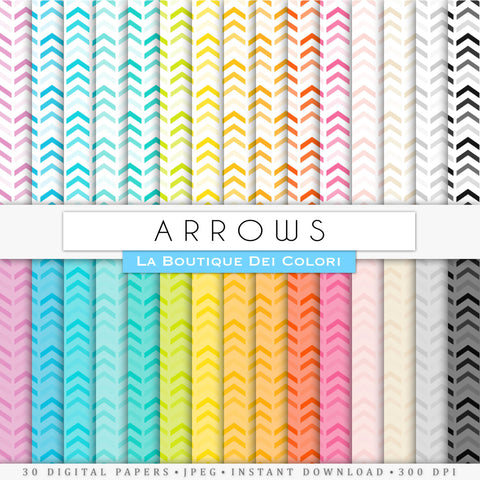 Arrows Digital Paper - La Boutique Dei Colori