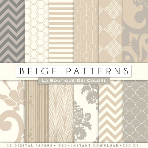 Old Beige Texture Digital Paper - La Boutique Dei Colori