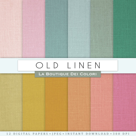 Old linen Digital Paper - La Boutique Dei Colori