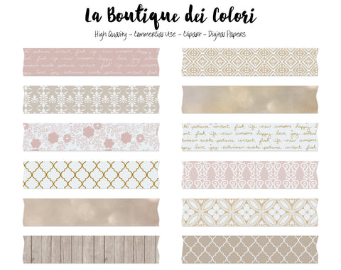 Wedding Washi Tape Clipart - La Boutique Dei Colori