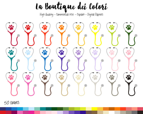 Veterinary Planner Clipart - La Boutique Dei Colori
