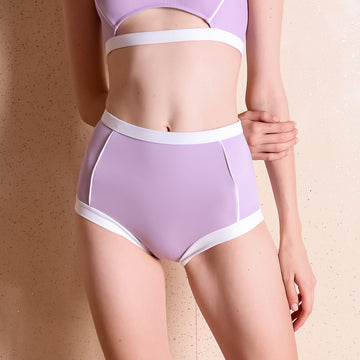 Primary high-waist bottom - LILAC