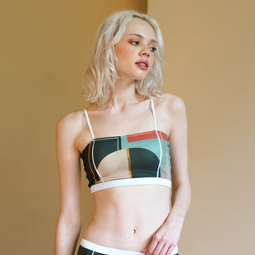 Primary Bandeau - art deco print