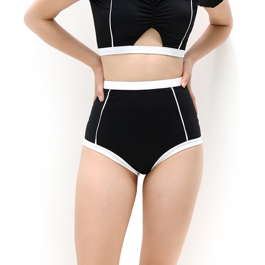 Primary high-waist bottom - BLACK
