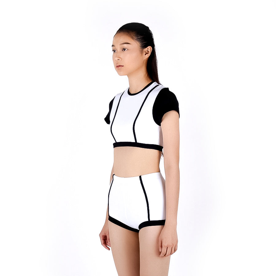 Parallel line set - WHITE