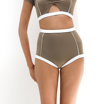 Primary high-waist bottom - CLAY