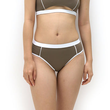 Primary low-waist bottom - CLAY