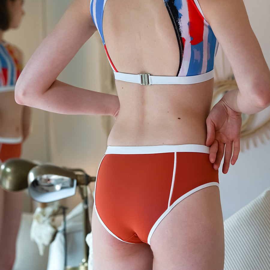 Primary low-waist bottom - ORANGE
