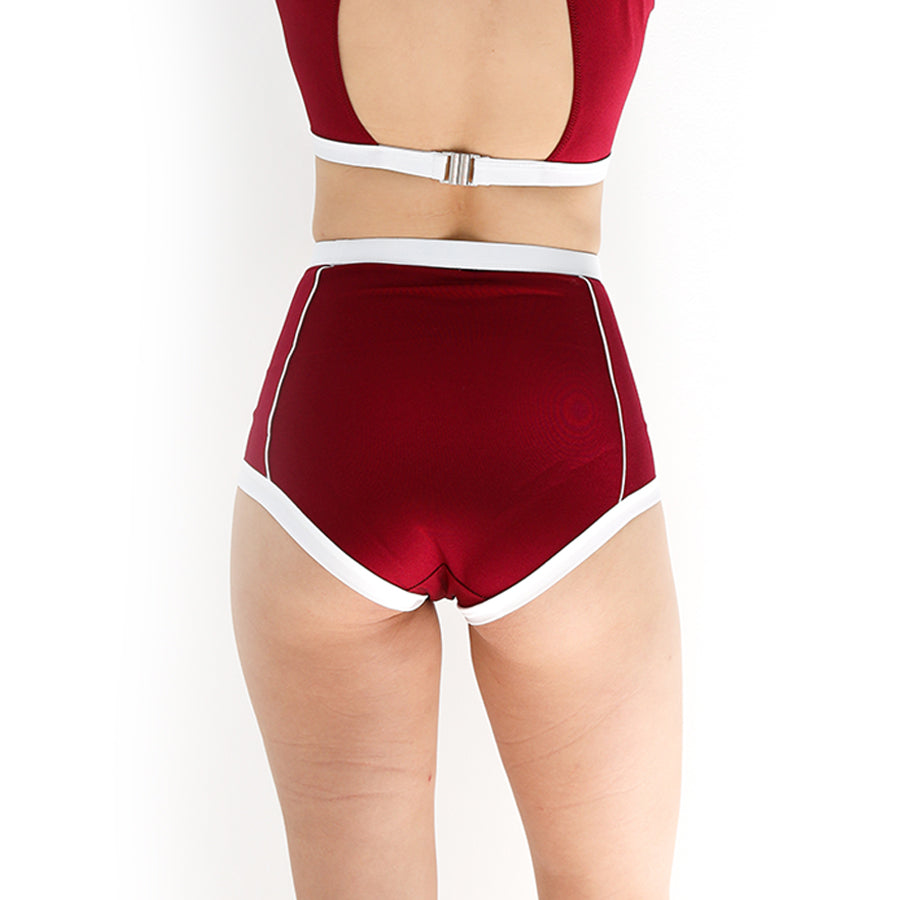 Primary high-waist bottom - RED