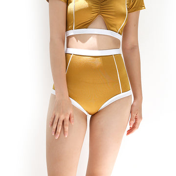 Primary high-waist bottom - YELLOW