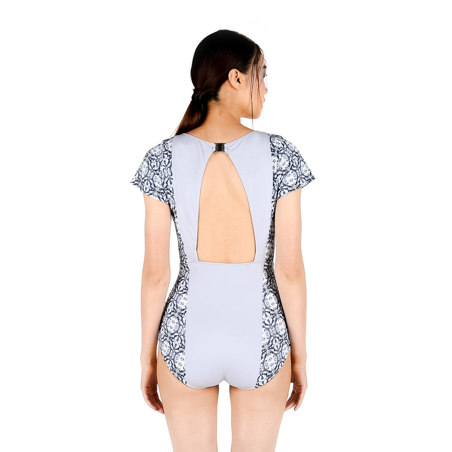 Crystal suit - GRAY/PRINT
