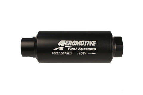 Aeromotive Pro-Series In-Line Fuel Filter - ORB-12 - 10 Micron Microglass Element