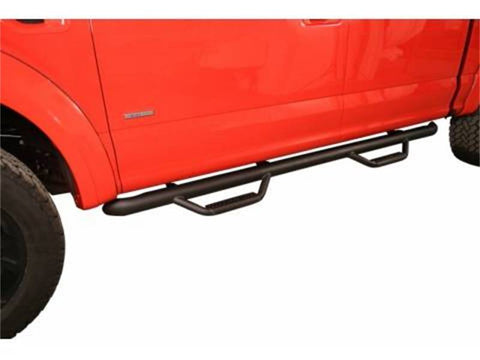 N-Fab Off-Road F1577QC-TX Cab Length Nerf Step Bar