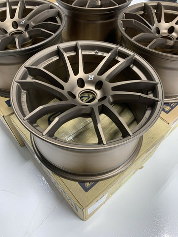 Clearance - Gram Lights 57XTC Bronze JPJ 18x9.5 ET.12 5x114