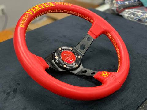 Vertex Inspired Steering Wheel