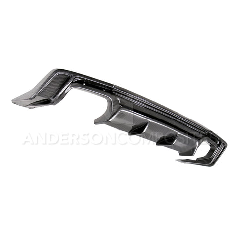 Anderson Composites 2016+ Chevy Camaro SS Type-AZ Carbon Fiber Rear Diffuser freeshipping - Speedzone Performance LLC