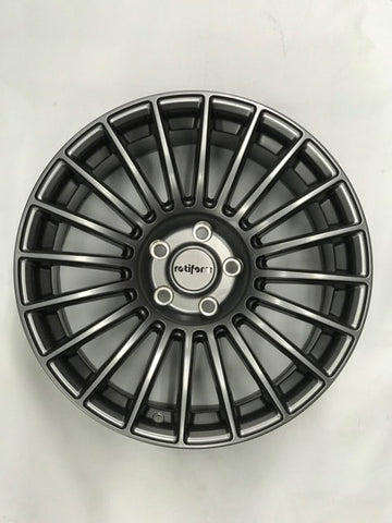 Clearance - Rotiform BUC Matte Anthracite 18x9.5 ET.40 5x114