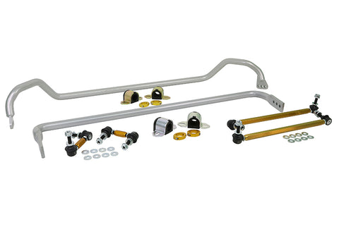 Whiteline 10-12 Chevrolet Camaro SS/LS/LT Front & Rear Sway Bar Kit