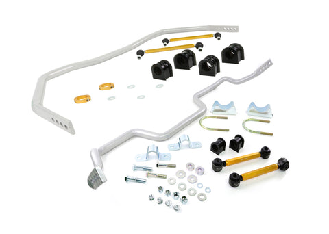 Whiteline 05-14 Ford Mustang (Incl. GT) Front & Rear Sway Bar Kit