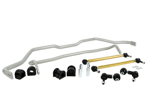 Whiteline 17-18 Honda Civic Type-R FK8 / 16-18 Honda Civic EX/LX Front & Rear Sway Bar Kit