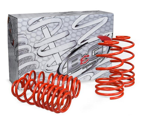 Closeout Suspension-B&G Lowering Springs TOYOTA COROLLA 2002-2008
