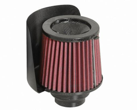 BMC Universal 90mm Conical Carbon Racing Filter w/Shield & Reducer