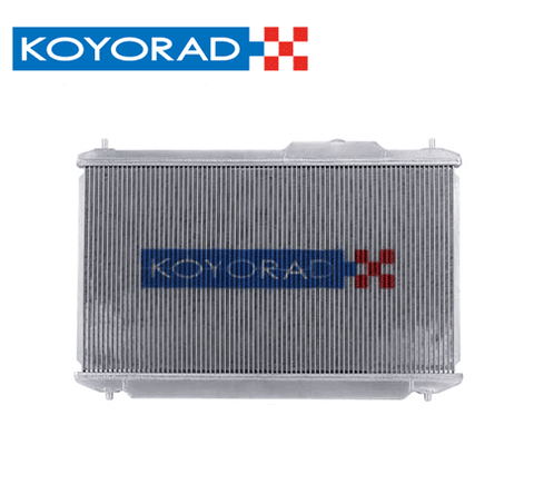 KOYO 1989-1994 NISSAN 240SX WITH SR20DET SWAP (MANUAL TRANS) N-FLO (DUAL PASS) ALUMINUM RADIATOR