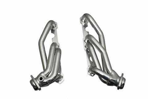 Gibson 88-95 Chevrolet C1500 Cheyenne 5.0L 1-1/2in 16 Gauge Performance Header - Ceramic Coated