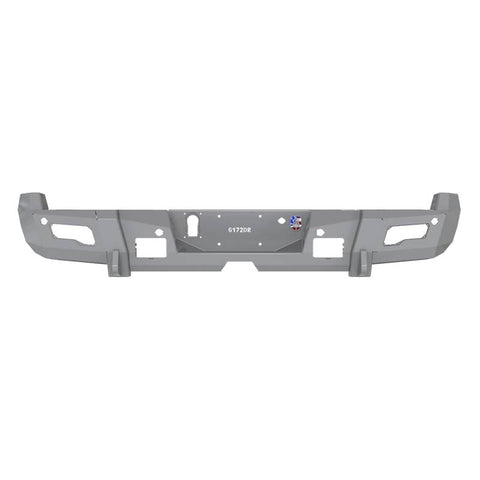 Road Armor 15-19 Chevy 2500 iD Rear Bumper w/Center Section/Shackle End Pods/Ring/Accents - Raw
