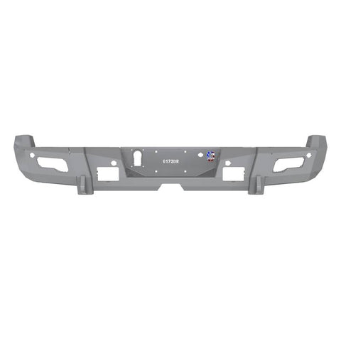 Road Armor 11-16 Ford F-250 iD Rear Bumper w/Center Section/Shackle/End Pods/iD/Accents - Raw