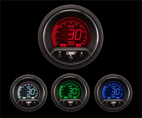 Prosport Gauges 52mm Premium Evo Electrical Fuel Pressure Gauge