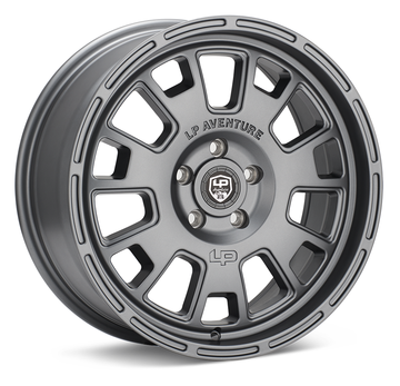 LP Aventure LP7 18x8 5-112 ET35 Light Grey Wheel