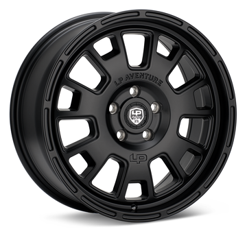 LP Aventure LP7 18x8 5-100 ET45 Matte Black Wheel