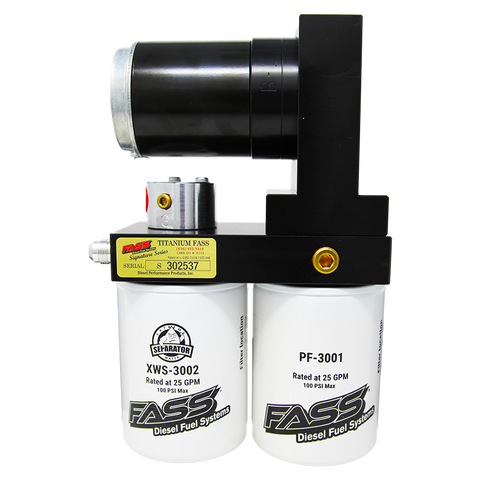 FASS 08-10 Ford F250/F350 Powerstroke 95gph Titanium Signature Series Fuel Air Separation System