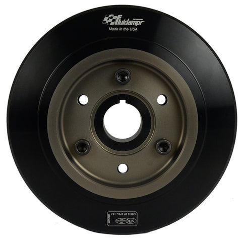 Fluidampr Toyota 1JZ/2JZ I-6 Underdrive Pulley Harmonic Balancer freeshipping - Speedzone Performance LLC