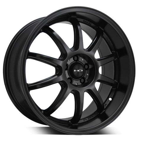 HD Wheels Passenger Car Wheels HD Wheels Clutch | All Satin Black | 5x100