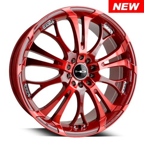 HD Wheels Passenger Car Wheels HD Wheels Spinout | Double Red