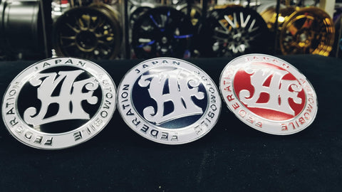 Limited Edition - Japan Automotive Federation Badges