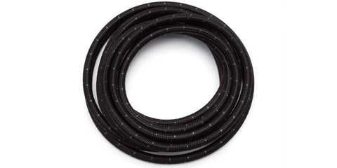 Russell Performance -8 AN ProClassic Black Hose (Pre-Packaged 20 Foot Roll)
