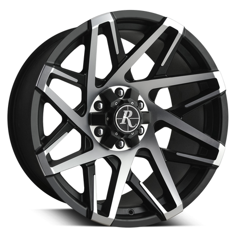 Remington Off-Road Truck & SUV Wheels Remington® Off-Road Wheels Canyon Wheels | Satin Black Machined Face
