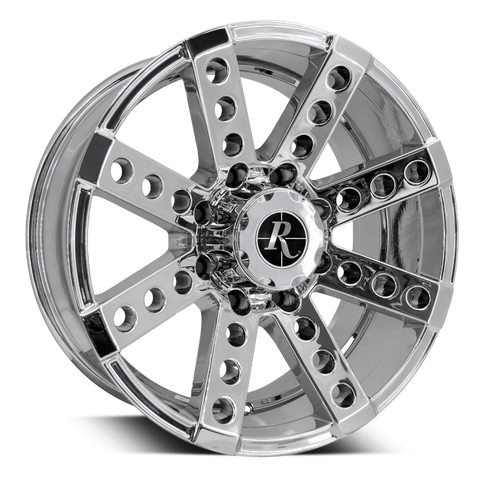 Remington Off-Road Truck Wheels 17x9.0 | 6x139.7 | et12mm | 5.5 in | 106.2mm Remington Off-Road Wheels Buckshot Truck | PVD Chrome