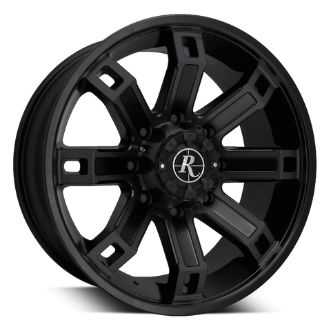 Remington Off-Road Truck Wheels 18x9.0 | 5x127/5x139.7 | et0mm | 5.0 in | 78.1mm Remington Off-Road Wheels Hollow Point Truck | All Satin Black