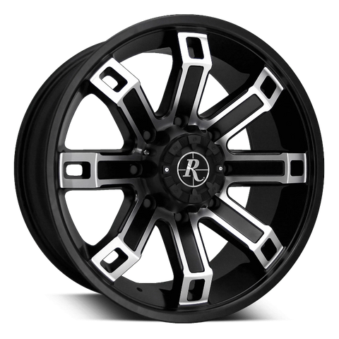 Remington Off-Road Truck Wheels 18x9.0 | 5x127/5x139.7 | et0mm | 5.0 in | 78.1mm Remington Off-Road Wheels Hollow Point Truck | Satin Black Machined