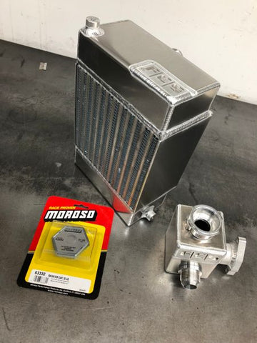 PRO SERIES RADIATOR kit w/ Expansion tank