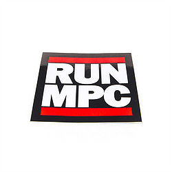RUN MPC Decal