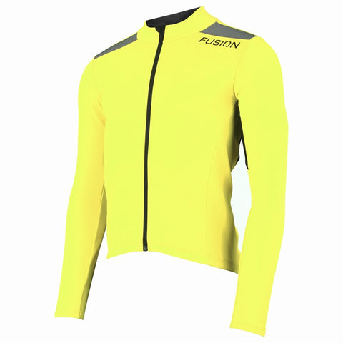 S3 CYCLING JACKET YELLOW