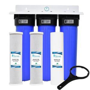 3-Stage Dual Carbon Whole House Filter