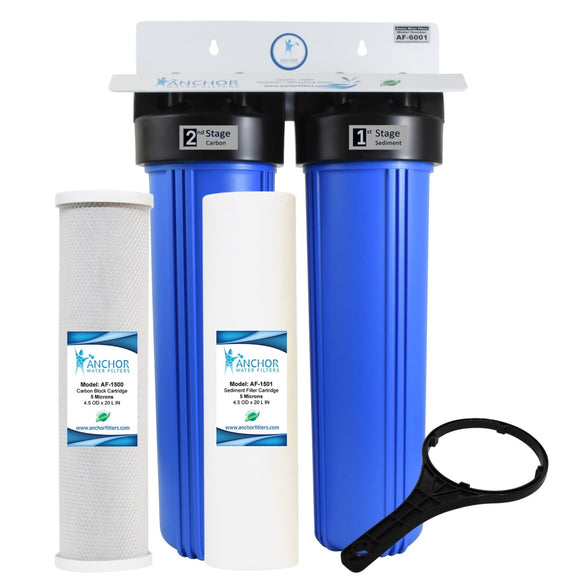 AF-6001 - 2-Stage Carbon+Sediment Whole House Filter